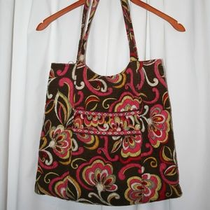 Vera Bradley Double Strap Shoulder Bag